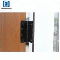 FANGDA HAUS VORDERSEITE benutzte äußere Fiberglas-Türen für Verkauf mit Türscharnier