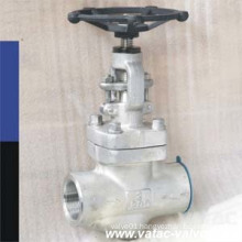 Socket Welded or Butt Welded Foregd Steel Globe Valve