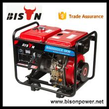 Bison China Zhejiang Generator Capacitor 2KW Brush AC St230 Volt Diesel Dynamo Generator