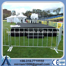 various color Crowed Control Barrier event barrier for sale