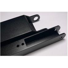 Aluminio extruido anodizado negro 6063-T5