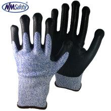 NMSAFETY EN388 le plus nouveau standard HPPE coupe gants résistants à la sécurité industrielle gants de travail avec CE