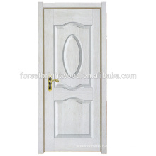 White New Simple Design Melamine Finished Molded Door