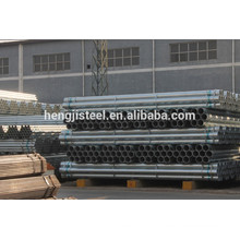 Carbon erw galvanized round steel pipe ASTM A53