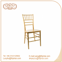 golden Metal tube wholesale cheap chiavari tiffany chairs