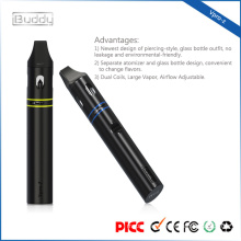Dual Coils cigarro electronico Large Vapor Airflow Adjustable vapor pen kit