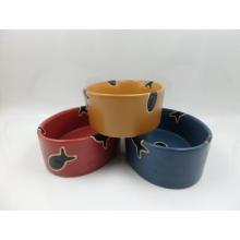 Cuenco de cerámica con cerámica