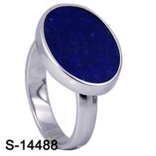 Klassischer Modeschmuck 925 Sterling Silber Ring