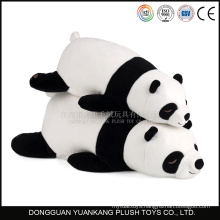 100% polyester stuffed panda bear teddy