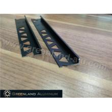 Powder Coated Black L Forma Tile Trim para 8mm, 10mm, 12mm Tile