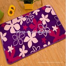 новый дизайн формы цветка моющийся коврик для ванной