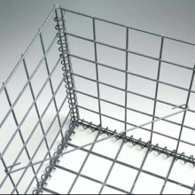 4mm Cheap And Good Quality Galvanized Square Welded Gabion Box Mesh