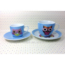 Set de café de porcelana para BS131222D