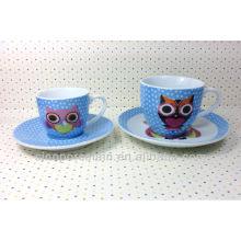 Set de café en porcelaine pour BS131222D