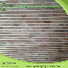 Contreplaqué de panneau de bloc de 1220X2440X16-19mm avec le visage de placage et le prix meilleur marché