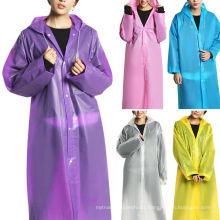 outdoor all color adult pvc rainwear
