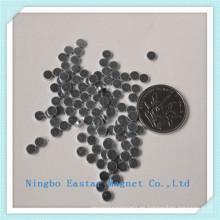 D2X0.5 disco neodimio imán permanente con la galjanoplastia del cinc
