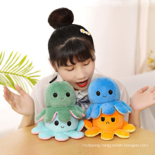 Soft Magic Reversible Octopus Plush Toy for Kids