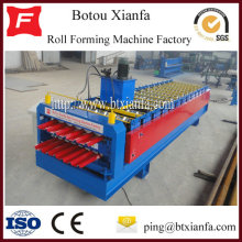 Double Glazed Tile And Wave Roof Sheet Forming Machine