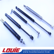 Compression gas spring release cables