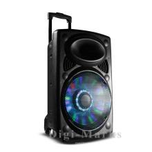 Haut-parleur de tête portable Bluetooth extérieur de 10 pouces