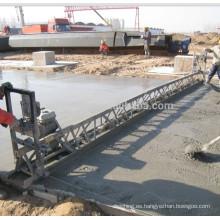 Pavimentadora de hormigón con solera de hormigón Honda de 16m (FZP-130)