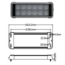 Alta potencia Interior LED 24W luz EMC aprobado