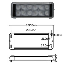 La puissance élevée LED intérieur 24W lumière EMC approuvé