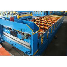 Máquina de formação de rolo de placa de aperto