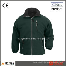 High Quality Wholesale Men Polar Fleece Jacket Casual Outdoor Garment with Zipper
