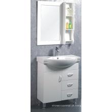 Mobília simples do armário de banheiro do MDF (C-6303)
