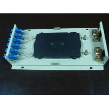 Wandkasten ODF SC12 mit Adapter und Pigtails
