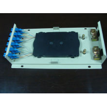 Caixa de parede ODF SC12 com adaptadores e tranças