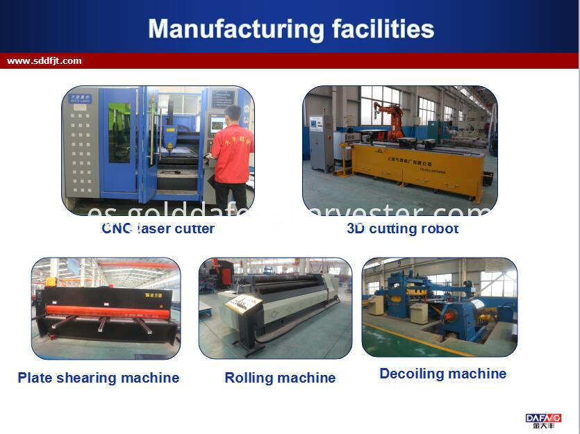 130hp Wheeled Tractor Manufacturing Facilities001