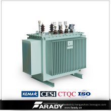 3 Phase Distribution Transformer Manufacturer Step Down Oil Transformer