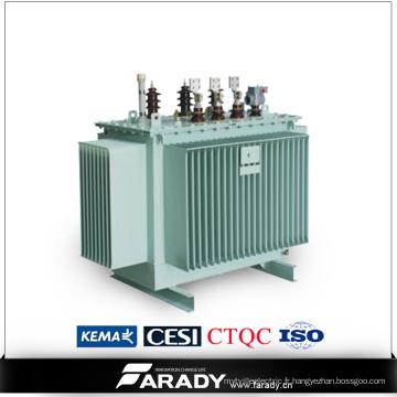 Transformateur de distribution de transformateur de distribution de 3 phases