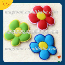 Colorful funny shape flower shaped magnets for fridge