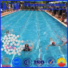 La nouvelle génération de traitement de l'eau La tablette chimique de dioxyde de chlore Mieux que les comprimés de chlore dans la piscine