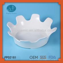 Venta al por mayor placas de cerámica blanca a granel