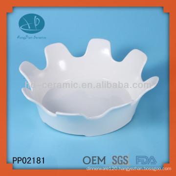 wholesale white ceramic plates bulk