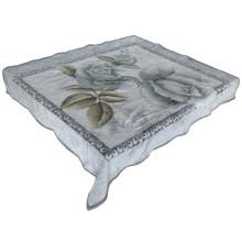 Impressão de design de delegado e cobertor de poliéster barato esculpido