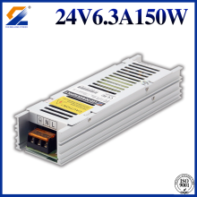 Sterownik LED 24V 150W Slim do diody LED 5050