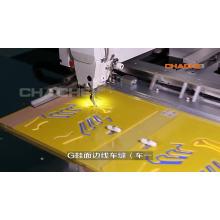 Máquina de costura industrial lockstitch automática