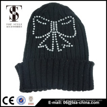 Sombrero de invierno Beanie tipo y adultos grupo de edad tapa de moda