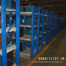 Heavy Duty Steel Drawer Type Mold Racking with Moving Hoist