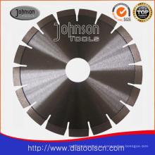 Hoja de sierra: Lámina de sierra silenciosa soldada por láser de 250 mm