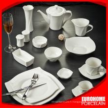 Guangzhou vente chaude ensembles de vaisselle de porcelaine fine bone china