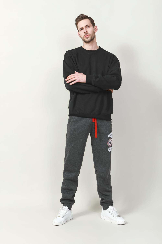 Men's simple fleece pullover