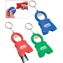 Promotional Logo Printed Bottle Opener With Tape Measure