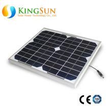 10W Painel Solar Mono-Cristalino Pequeno Tamanho / Mono Painel Solar / Módulo Solar